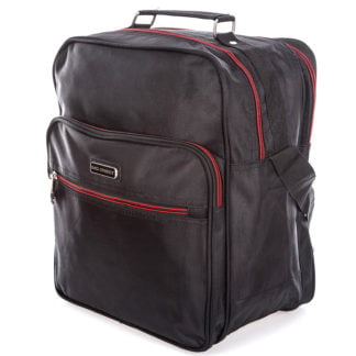 Pojemna torba męska na ramię czarna Bag Street