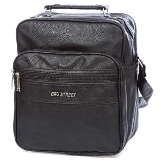 Średnia torba męska do pracy czarna Bag Street