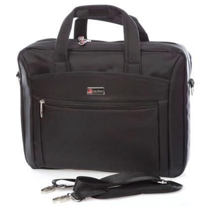 Czarna torba męska na laptopa Bag Street